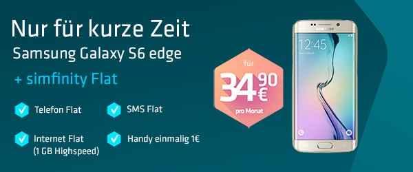 simfinity Flat mit Top Smartphone