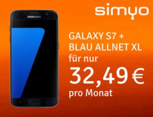 Blau Allnet XL mit Samsung Galaxy S7