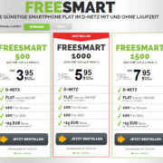 freenetmobile freeSMART Handytarife
