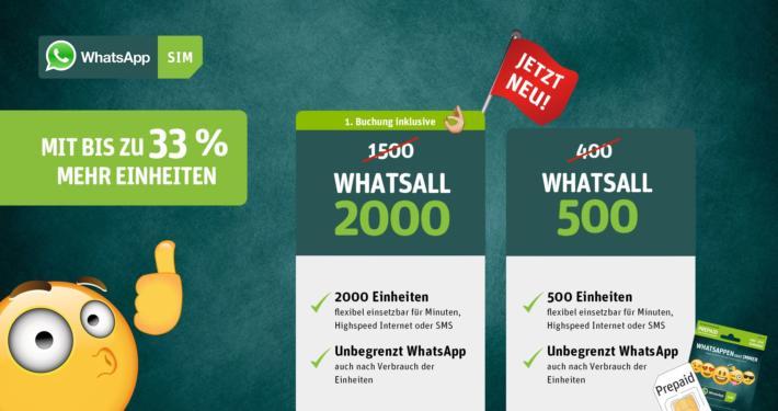 WhatsApp SIM Tarif